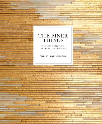 Finer Things book