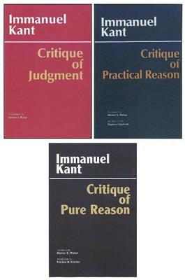 Three Critiques Three Critiques, 3-volume Set Critique of Pure Reason Volume 1 by Immanuel Kant