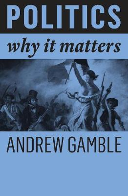 Politics: Why It Matters by Andrew Gamble