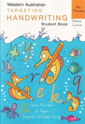 Targeting Handwriting: Pre-primary Student Book by Jane Pinsker