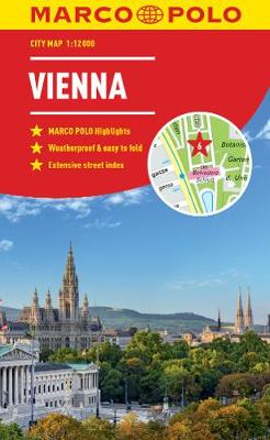 Vienna Marco Polo City Map 2019 by Marco Polo