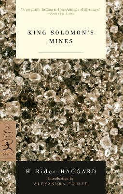 Mod Lib King Solomon's Mines book