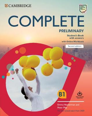 Complete Preliminary Student's Book with Answers with Online Workbook: For the Revised Exam from 2020 by Peter May