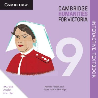 Cambridge Humanities for Victoria 9 Digital (Card) by Michael Adcock