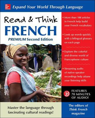 Read & Think French, Premium Second Edition by The Editors of Think French! magazine