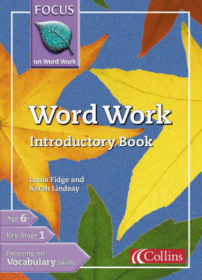 Word Work Introductory Book by Louis Fidge