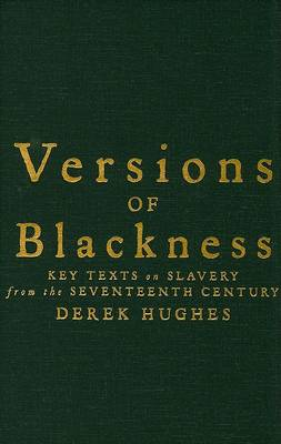 Versions of Blackness book