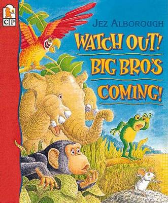 Watch Out! Big Bro's Coming! by Jez Alborough