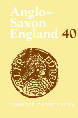 Anglo-Saxon England: Volume 40 by Malcolm Godden