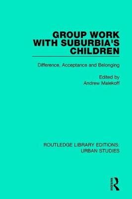 Group Work with Suburbia's Children book