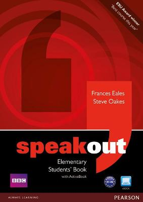 Speakout Elementary Students book and DVD/Active Book Multi Rom pack by Frances Eales