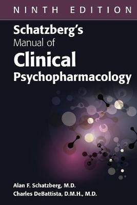 Schatzberg's Manual of Clinical Psychopharmacology book