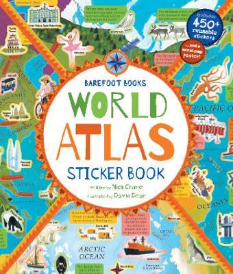 World Atlas Sticker Book by David Dean
