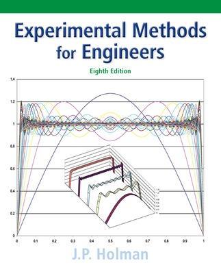 Experimental Methods for Engineers by Jack P. Holman