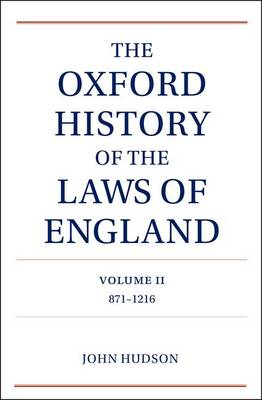 Oxford History of the Laws of England Volume II book