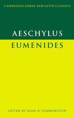 Aeschylus: Eumenides book