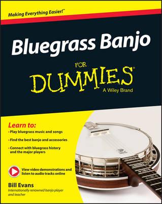 Bluegrass Banjo for Dummies by Bill Evans