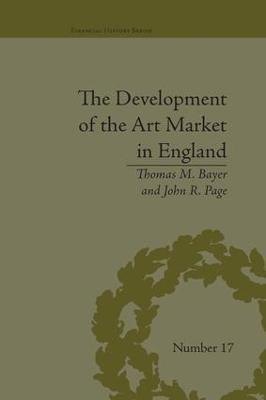 Development of the Art Market in England book
