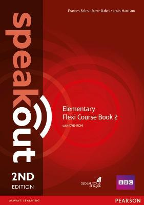 Speakout Elementary 2nd Edtion Flexi Coursebook 2 Pack by Frances Eales