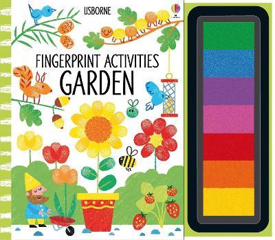 Fingerprint Activities Garden book