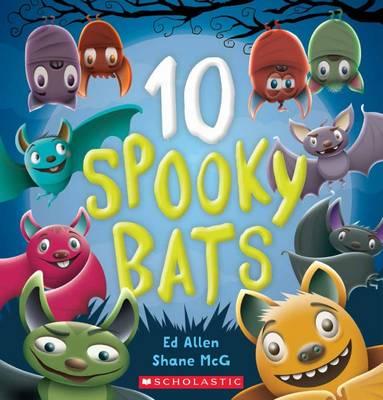 10 Spooky Bats book