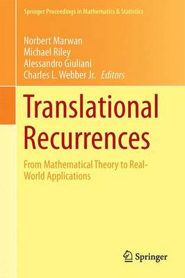 Translational Recurrences by Norbert Marwan