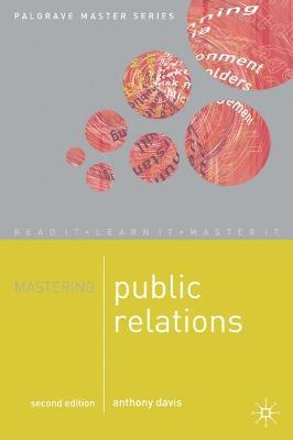Mastering Public Relations book