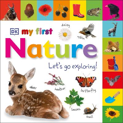 My First Nature Let's Go Exploring book