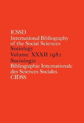 IBSS: Sociology by International Committee for Social Sciences Documentation