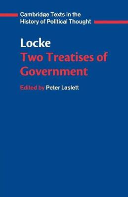 Locke: Two Treatises of Government Student edition book