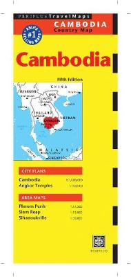 Cambodia Travel Map by Periplus Editors