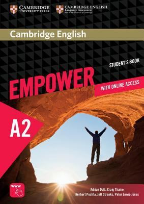Cambridge English Empower Elementary Student's Book with Online Assessment and Practice, and Online Workbook by Adrian Doff