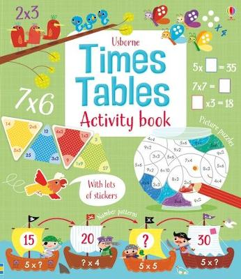 Times Tables Activity Book book
