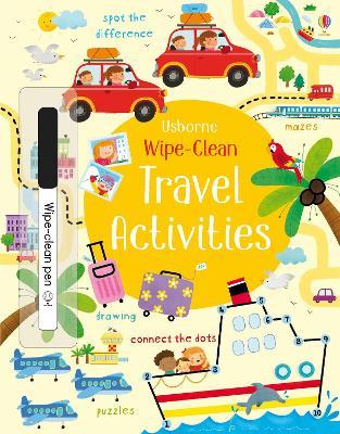 Wipe-clean Travel Activities book