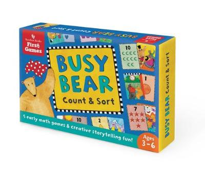 Busy Bear Count & Sort Game by Debbie Harter