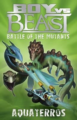 Boy vs Beast Battle of the Mutants #12: Aquaterros by Mac Park