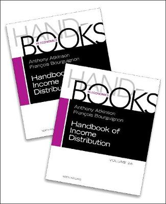 Handbook of Income Distribution: Volume 2A-2B by Anthony B. Atkinson