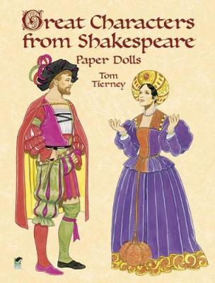 Great Characters from Shakespeare Paper Dolls book