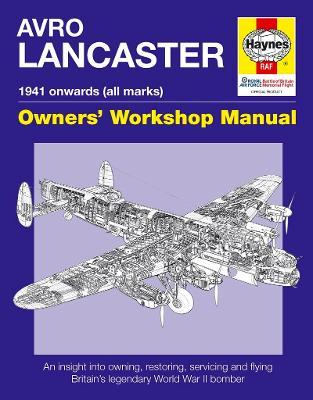 Avro Lancaster Manual by Paul Blackah