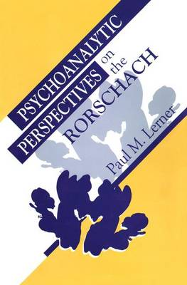 Psychoanalytic Perspectives on the Rorschach book
