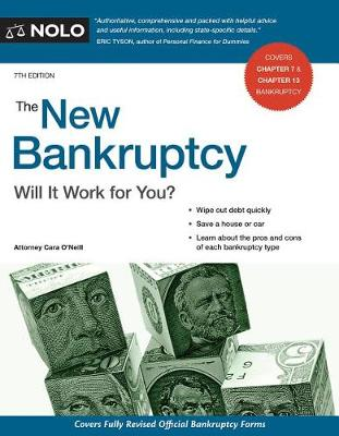 The New Bankruptcy by Cara O'Neill