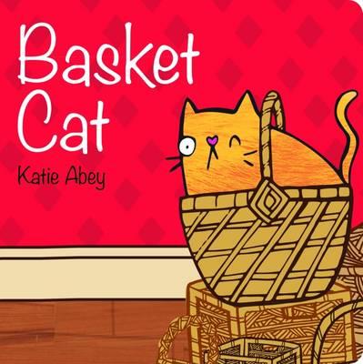 Basket Cat by Katie Abey