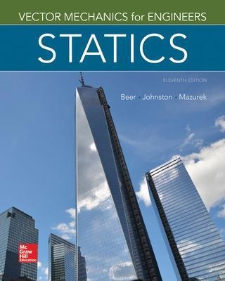 Vector Mechanics for Engineers: Statics by Ferdinand P. Beer
