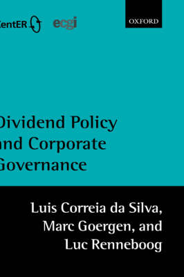 Dividend Policy and Corporate Governance by Luis Correia da Silva