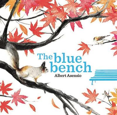 The Blue Bench by Albert Asensio