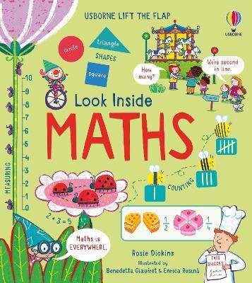 Look Inside Maths by Rosie Dickins