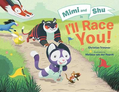 Mimi and Shu in I'll Race You! by Christian Trimmer