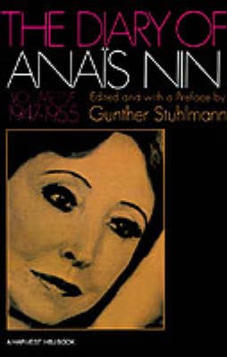 The Diary of Anais Nin by Anais Nin