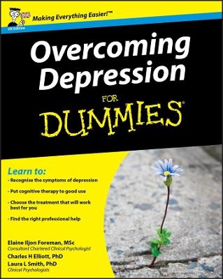 Overcoming Depression for Dummies UK Edition by Elaine Iljon Foreman
