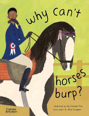 Why can't horses burp? book